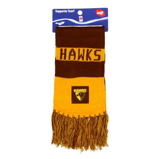 Hawthorn Hawks Bar Scarf, , rebel_hi-res