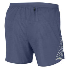 Nike Mens Flex Stride Future Fast 5in Running Shorts Blue XS, Blue, rebel_hi-res