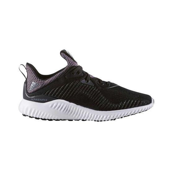 on sale 99776 323a1 adidas Alphabounce Kids Running Shoes Black  White US 4, Black  White,  rebelhi