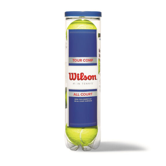 Wilson Tour Comp 4 Can Tennis Balls, , rebel_hi-res