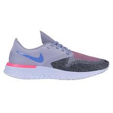 Nike Odyssey React 2 Womens Running Shoes Purple / Black US 6, Purple / Black, rebel_hi-res