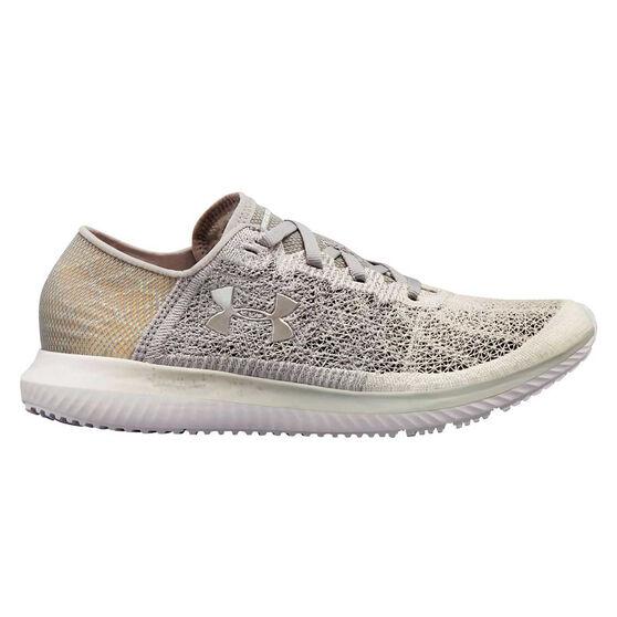 Under Armour Threadborne Blur Womens Running Shoes Grey / White US 10, Grey / White, rebel_hi-res