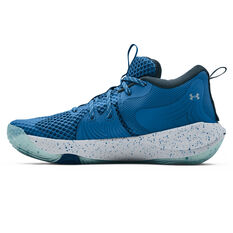 Under Armour Embiid 1 Basketball Shoes Blue US 7, Blue, rebel_hi-res