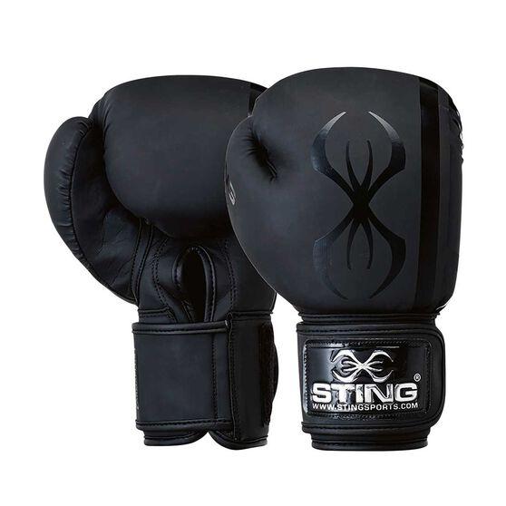 Sting Armaplus Boxing Glove, Black, rebel_hi-res