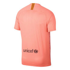 1835640fc ... FC Barcelona 2018   19 Mens 3rd Jersey Pink S