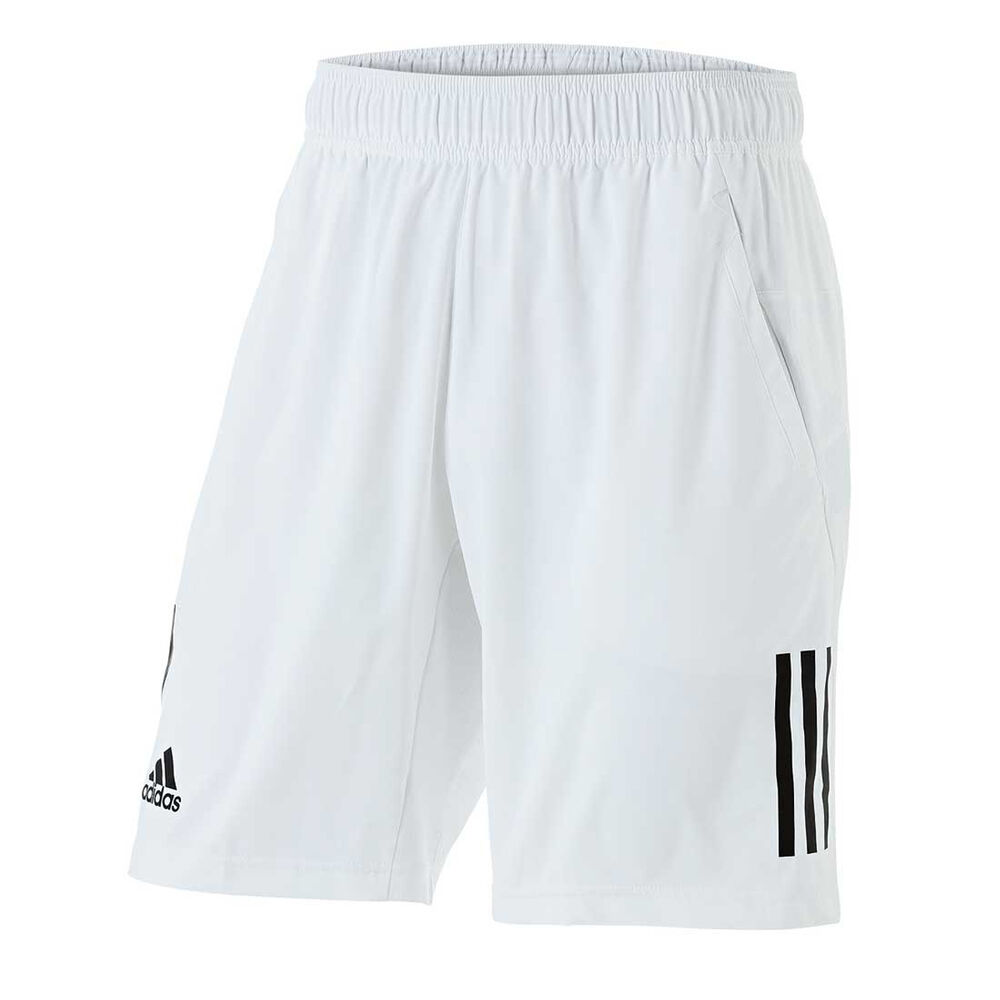 deaae15efb4 adidas Mens Club Tennis Shorts White / Black S, White / Black, rebel_hi-