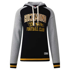 Richmond Tigers Mens Collegiate Pullover Hoodie Yellow S, Yellow, rebel_hi-res