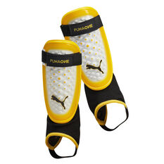 Puma 1.3 Ankle Sock Shin Guards Yellow S, , rebel_hi-res