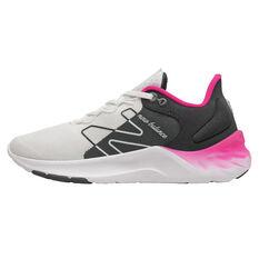 New Balance Fresh Foam Roav v2 Womens Running Shoes White/Black US 6, White/Black, rebel_hi-res