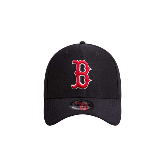 Boston Red Sox 2019 New Era 39THIRTY Hex Cap, Black / Red, rebel_hi-res