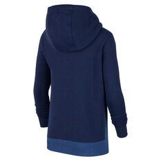 Nike Sportswear Boys Club Half Zip Hoodie Navy/Blue XS, Navy/Blue, rebel_hi-res
