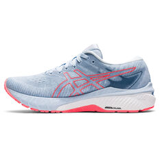 Asics GT 2000 10 Womens Running Shoes Blue/Coral US 6, Blue/Coral, rebel_hi-res