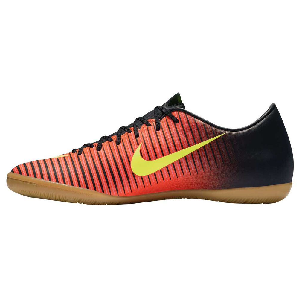 90690f9fb5ad Nike Mercurial Victory VI Mens Indoor Soccer Shoes Red   Volt US 9.5 Adult