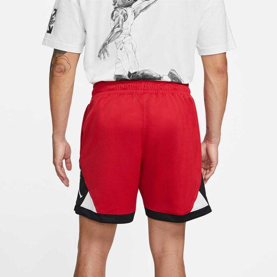 Jordan Mens Jumpman Diamond Shorts, Red, rebel_hi-res