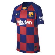 621c287470c Football 2018/19 Promo. FC Barcelona 2019/20 Kids Home Jersey Blue / Red  XS, , rebel_hi-