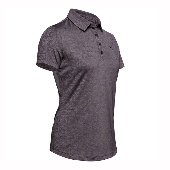 Under Armour Womens Zinger Polo, Purple, rebel_hi-res