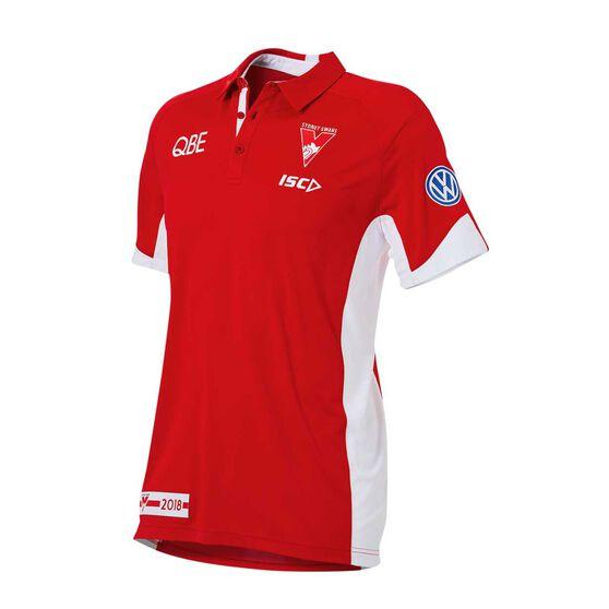 Sydney Swans 2018 Mens Polo Shirt, , rebel_hi-res