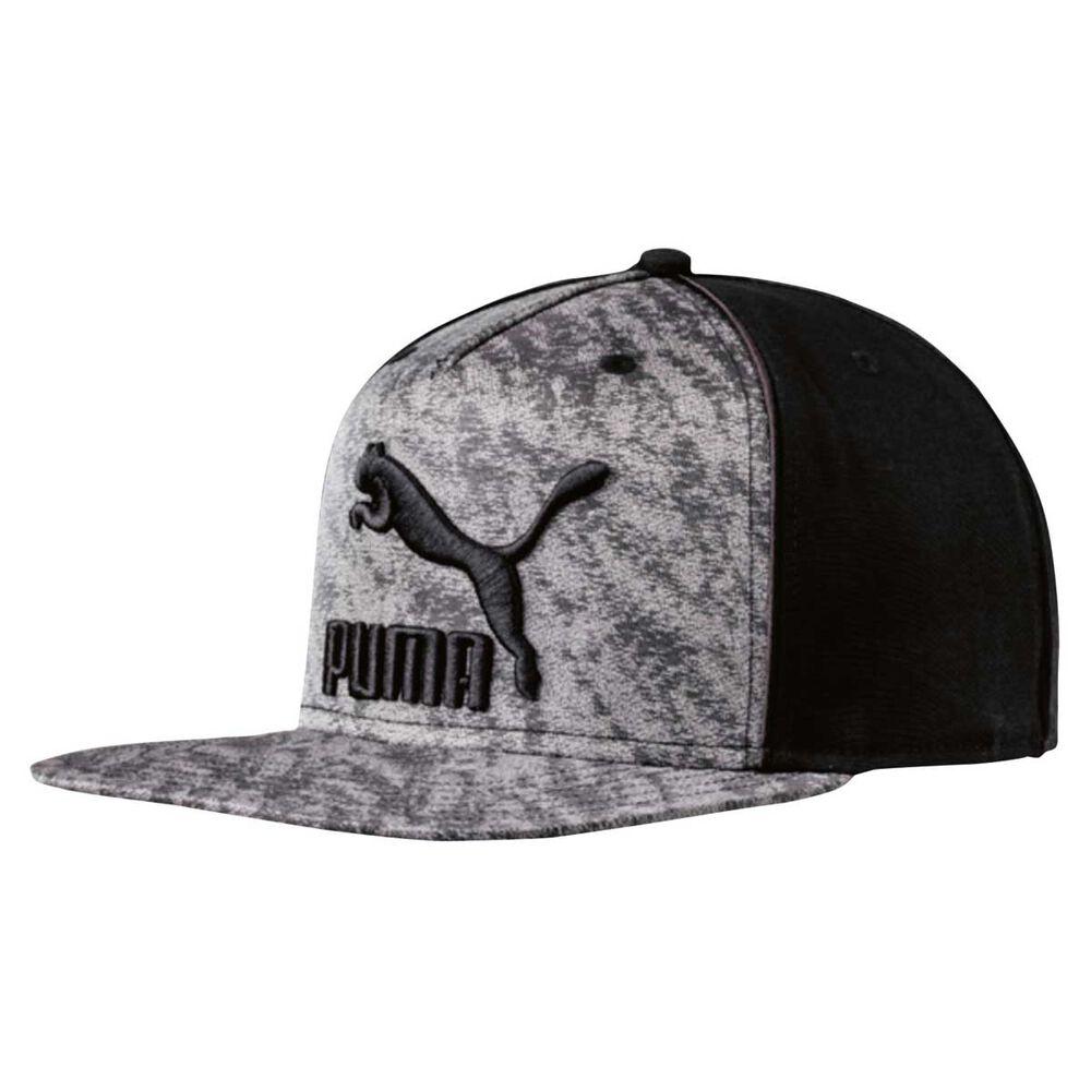 d45d8abf6d1 Puma Archive Deluxe Flat - Brim Cap Grey   Black OSFA