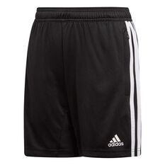 adidas Boys Tiro 19 Training Shorts Black / White 6, Black / White, rebel_hi-res