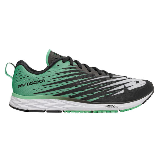 New Balance 1500v5 Womens Running Shoes, Green / Black, rebel_hi-res