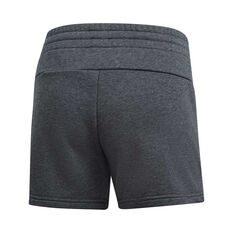 adidas Womens Essentials Linear Shorts Grey XS, Grey, rebel_hi-res