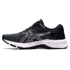 Asics GT 1000 10 Womens Running Shoes Black/White US 6, Black/White, rebel_hi-res