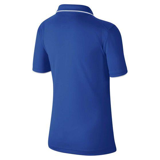 Nike Court Boys Dri-FIT Team Polo, Royal Blue / White, rebel_hi-res