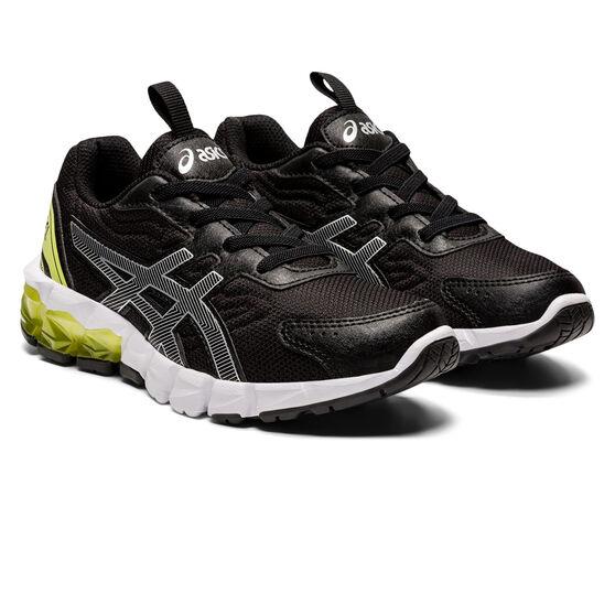 Asics GEL Quantum 90 2 Kids Casual Shoes, Black/Silver, rebel_hi-res