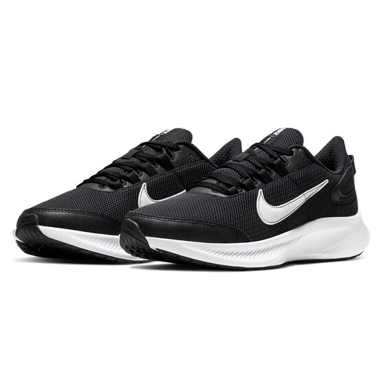 Nike Run All Day 2 Womens Running Shoes Black / White US 8.5, Black / White, rebel_hi-res