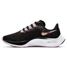 Nike Air Zoom Pegasus 37 Womens Running Shoes Black US 6, Black, rebel_hi-res