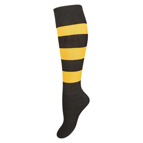 Burley Richmond Kids Football Socks, , rebel_hi-res