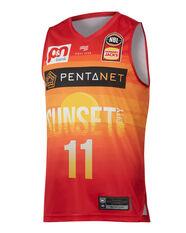 Perth Wildcats Bryce Cotton City Edition 2019/20 Mens Jersey Red / Orange S, Red / Orange, rebel_hi-res