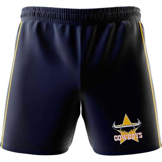 North Queensland Cowboys  Mens Club Fleece Shorts, , rebel_hi-res