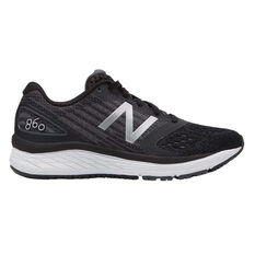 New Balance 860v9 Kids Running Shoes Black / White US 4, Black / White, rebel_hi-res