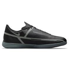Nike Phantom GT2 Club Indoor Soccer Shoes Black/Grey US Mens 7 / Womens 8.5, Black/Grey, rebel_hi-res