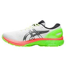 Asics GEL Kayano 27 Lite Show Mens Running Shoes White/Silver US 7, White/Silver, rebel_hi-res