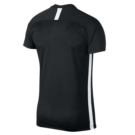 Nike Mens Dri FIT Academy Soccer Tee, Black, rebel_hi-res