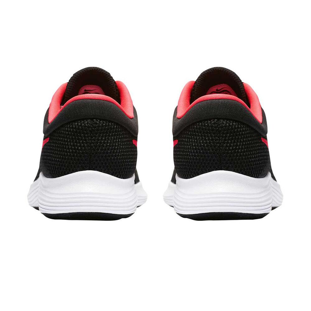 abc9632f23b424 Nike Revolution 4 Girls Running Shoes Black   Pink US 4