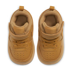 Nike Court Borough Low 2 Toddlers Shoes Brown US 4, Brown, rebel_hi-res