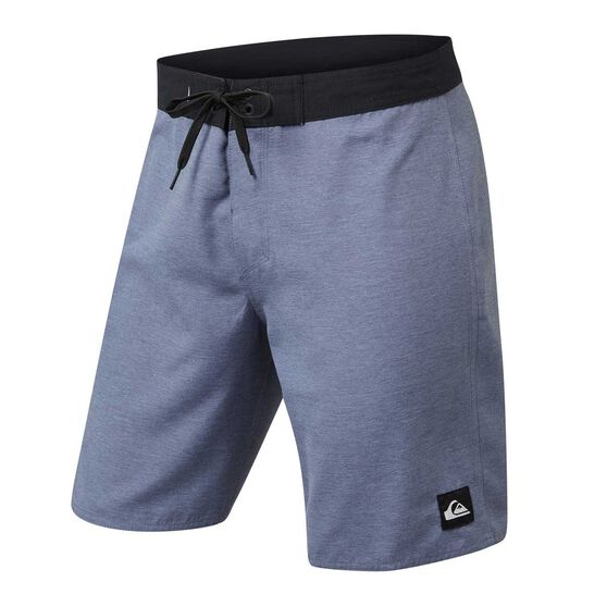 Quiksilver Mens Everyday Solid 19in Board Shorts, Light Blue, rebel_hi-res
