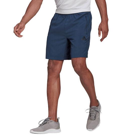 adidas AEROREADY Designed 2 Move Mens Shorts, Navy, rebel_hi-res