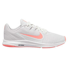Nike Downshifter 9 Womens Running Shoes Grey / Orange US 6, Grey / Orange, rebel_hi-res
