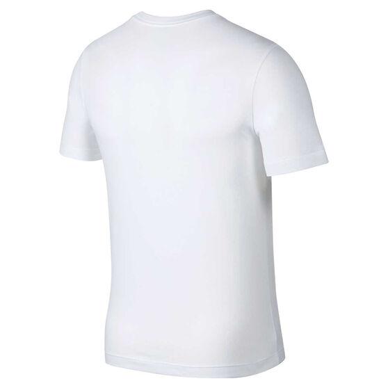 Nike Mens Dri-FIT Camo Training Tee, White, rebel_hi-res