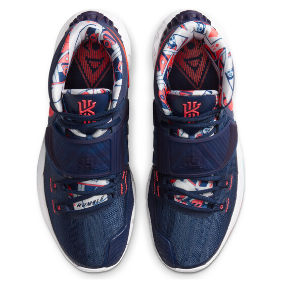 Nike Kyrie VI Mens Basketball Shoes Navy/Red US 11, Navy/Red, rebel_hi-res