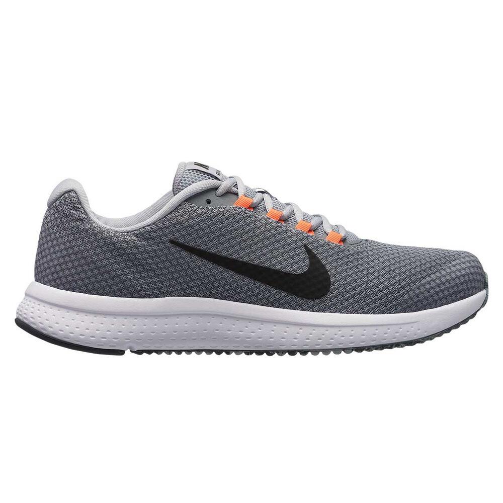 6bbb60ef40918 Nike RunAllDay Mens Running Shoes Grey   Black US 13