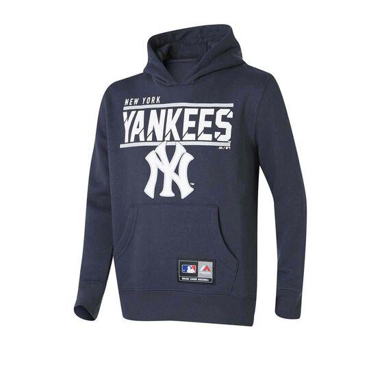 New York Yankees Youth Flex Team Hoodie, Navy, rebel_hi-res