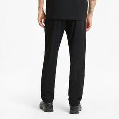 Puma Mens Active Woven Pants, Black, rebel_hi-res