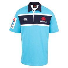NSW Waratahs 2018 Mens Classic Jersey Blue S, Blue, rebel_hi-res