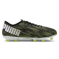 Puma Ultra 4.2 Football Boots Black US Mens 7 / Womens 8.5, Black, rebel_hi-res
