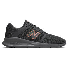 New Balance 24v2 Womens Casual Shoes Black / Grey US 6, Black / Grey, rebel_hi-res